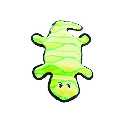 Outward Hound Invincibles Plush Gecko Dog Toy [並行輸入品]