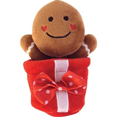 Dogit Luvz Christmas Present Toy, Gingie [並行輸入品]
