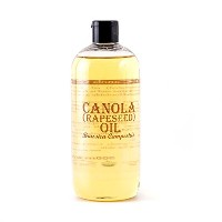 Mystic Moments | Canola (Rapeseed) Carrier Oil - 1 Litre - 100% Pure