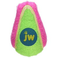 JW Pet Company 42200 Proten Speed Ball for Pets, Small, Assorted Colors (Green/Pink or Green/Blue) ...