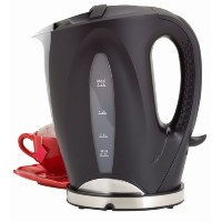 West Bend 53783 1-3/4-Quart Cordless Water Kettle, Black by West Bend