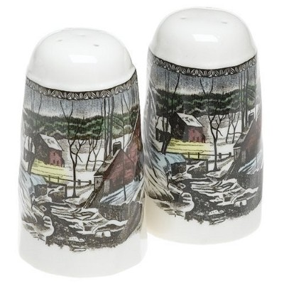 Johnson Brothers Friendly Village Salt And Pepper by Johnson Brothers