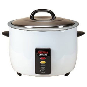 Aroma 48-Cup (Cooked) (24-Cup UNCOOKED) Commercial Rice Cooker (ARC-1024E) by Aroma Housewares