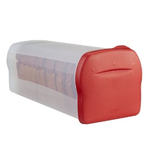 Rubbermaid Specialty Food Storage Containers, Bread Keeper, Red (1832489) by Rubbermaid