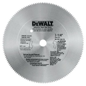 "Black & Decker/DWLTDW3326Plywood Steel Saw Blade-7-1/4"" 140T STEEL BLADE (並行輸入品)"
