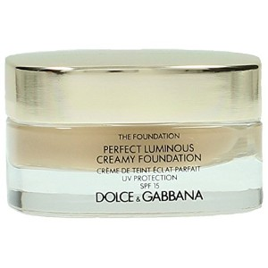 Dolce & Gabbana The Foundation Perfect Finish Creamy Foundation SPF 15 - # 120 Natural Beige 30ml