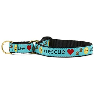 Up Country 犬用首輪【Rescue Martingale 】レスキュー マーチンゲール (L) [並行輸入品]