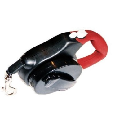 Innovative Pet Products 10-Feet Hip Leash, Standard, Red and Black [並行輸入品]