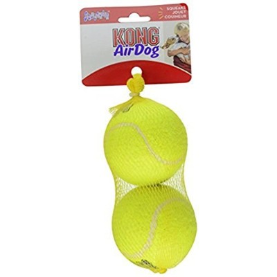 KONG Squeaker Tennis Balls, Large Dog Toy, 2-Pack by KONG [並行輸入品]