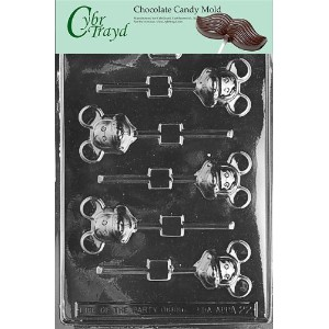 Cybrtrayd A022 Mouse Lolly Mickey Animal Chocolate Candy Mold by CybrTrayd