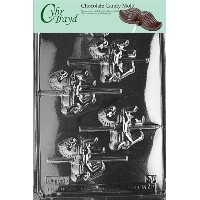 Cybrtrayd M072A Carousel-Horses Chocolate Candy Mold with Exclusive Cybrtrayd Copyrighted Chocolate...