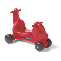 Careplay Ride-On Play Puppy Critter, Red by Careplay