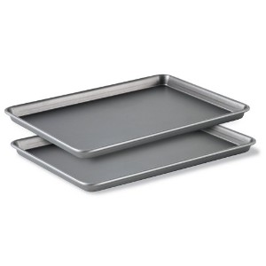 Calphalon Classic Bakeware Special Value 12-by-17-Inch Rectangular Nonstick Jelly Roll Pans, Set of...