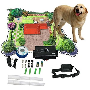 New Underground Electric Dog Pet Fencing Fence Shock Collar (Usa)