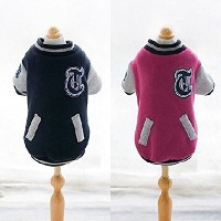 CHEEPET Stadium Jamper スタジャン 犬服 ペット服 3Color RED-XL