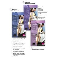 Mediven Plus, Knee-High, 30-40mmHg, Closed Toe, Compression Stocking, Beige, III by Medius