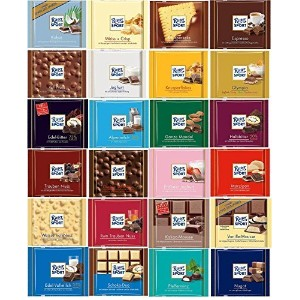 Ritter Sport Chocolate Gift Set 24 X 100g by Ritter Sport [並行輸入品]