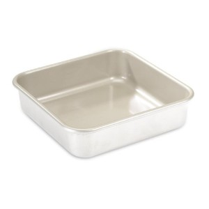 Nordic Ware Natural Aluminum NonStick Commercial Square Cake Pan by Nordic Ware