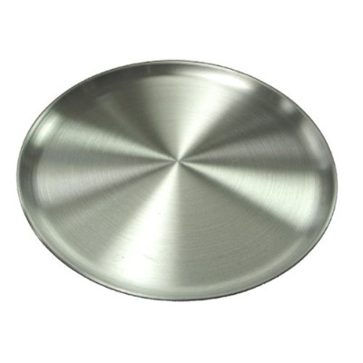 Winware Coupe Style Aluminum 14-Inch Pizza Tray by Winco