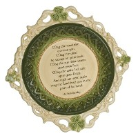Grasslands Road Celtic 2-Inch by 10-1/2-Inch by 10-1/2-Inch May The Road Rise.. Irish Blessing...