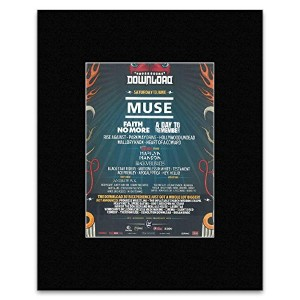 DOWNLOAD FESTIVAL - Saturday 13th June 2015 Faith No More Mini Poster - 28x21cm