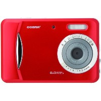 COBRA DIGITAL DC8650RD 8.0 Megapixel 3-in-1 Digital Camera (Red) by Cobra Digital