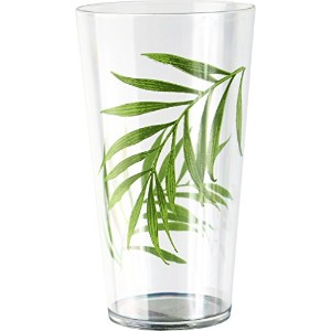 Corelle Coordinates Bamboo Leaf 19-Ounce Acrylic Glass, Set of 6 by CORELLE