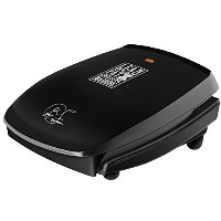 George Foreman ジョージフォアマン 4 Serving Classic Plate Grill グリル [並行輸入]