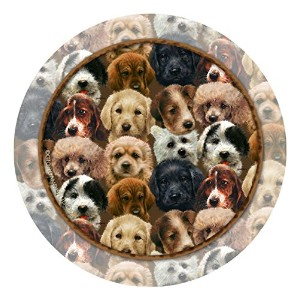 Thirstystone 4-pc. Puppy Collage Coaster Set by Thirstystone