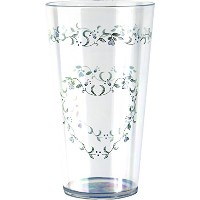 Corelle Coordinates Country Cottage 19-Ounce Acrylic Glass, Set of 6 by CORELLE
