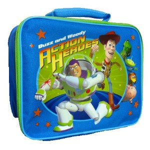 Toy Story Soft Lunch Box Insulated Bag Buzz & Woody Snack Tote Lunchbox by Disney