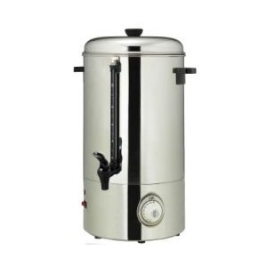 Magic Mill MUR50 Stainless Steel Hot Water Urn - 50 Cups by Magic Mill