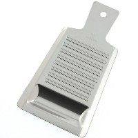 Kotobuki Stainless Steel Grater with Well, Large by Kotobuki