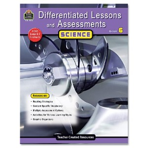 Differentiated Lessons and Assessments, Science, Grade 6, 224 Pages (並行輸入品)