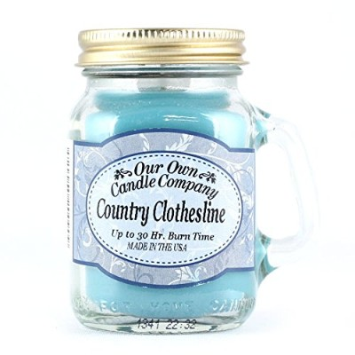 Our Own Candle Company メイソンジャーキャンドル「Country Clothesline カントリークローズライン」Mini Size 99g