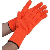 Medipaqテつョ Long Wrist Protect Heat Proof Gloves (1x PAIR) - Hold hot, even BURNING hot dishes...
