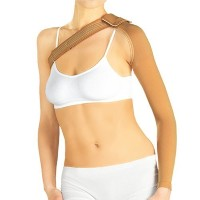 Medical Grade POST MASTECTOMY COMPRESSION SLEEVE, Anti Swelling Support, Arm Lymphedema Edema ...