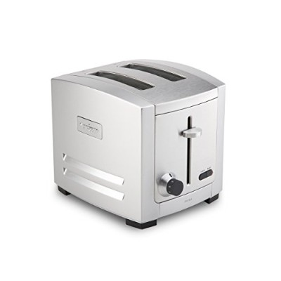 All-Clad TJ802D Stainless Steel 2-Slot Toaster with 6 Browning Control Settings and Frozen Bread...