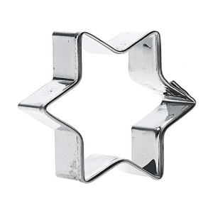 SVEICO 939302-1 Star Shaped Cookie Cutter, 8cm by Sveico