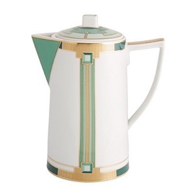 VISTA ALEGRE - EMERALD (Ref # 1122001) Porcelain Coffe Pot - VISTA ALEGRE 磁器コーヒーポット- 0,90 Lt [並行輸入品]