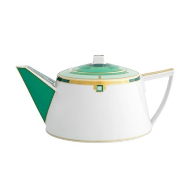 VISTA ALEGRE - EMERALD (Ref # 21121999) Porcelain Tea Pot - VISTA ALEGRE 磁器ティーポット- 1,33 Lt [並行輸入品]