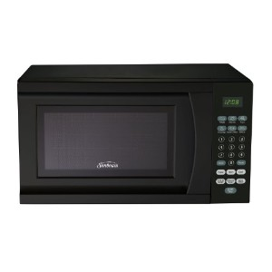 Sunbeam SGS90701B 0.7-Cubic Feet Microwave Oven, Black by Sunbeam