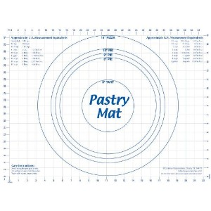 CounterArt 18 by 24-Inch Pastry Mat by CounterArt