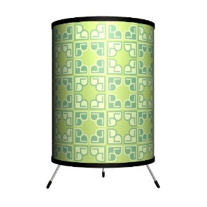 Lamp-In-A-Box TRI-DEC-PT036 Dcor Art - Pattern 036 Tripod Lamp by Lamp-In-A-Box