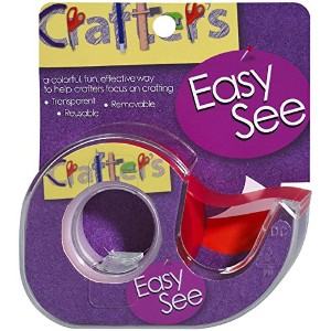 """Crafter's Easy See Removable Craft Tape .5""""X720""""-Orange (並行輸入品)"""