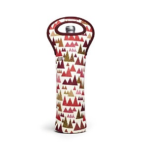 BUILT NY Neoprene Wine/Water Bottle Tote 1-Bottle Peppermint Forest ワイン、ウォーターボトル 1本入れ [並行輸入品]