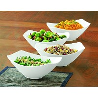 Over-and-Back ボウル4点セット 磁器食器 4 Bowls 742143