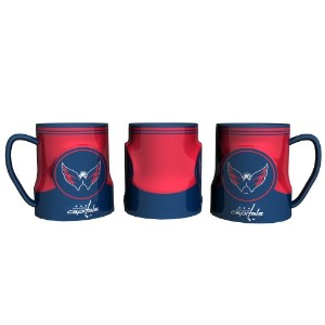 Washington Capitals 18oz Game Timeコーヒーマグby Boelterブランド