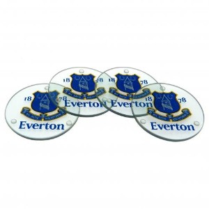 Everton F.C. Glass Coasters