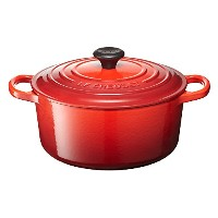 Le Creuset ル・クルーゼ シグニチャー ココット・ロンド 18cm チェリーレッド